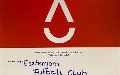 Véradás az FC Esztergom Centrumában