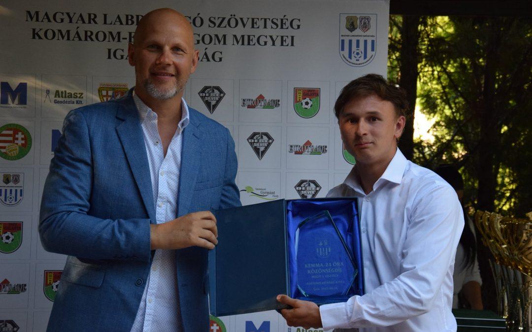 Mártonfi Richárd, felnőtt játékosunk a megyei I. osztály legjobb labdarúgója az olvasók szavazatai alapján!
