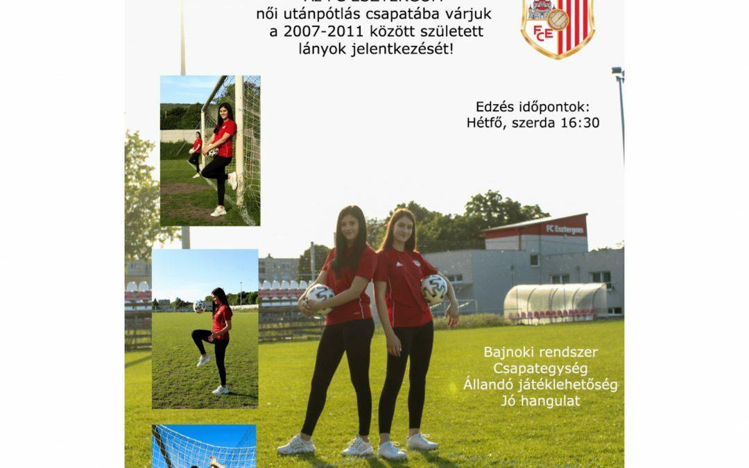 Csatlakozz te is a női U15-ös csapatunkhoz!